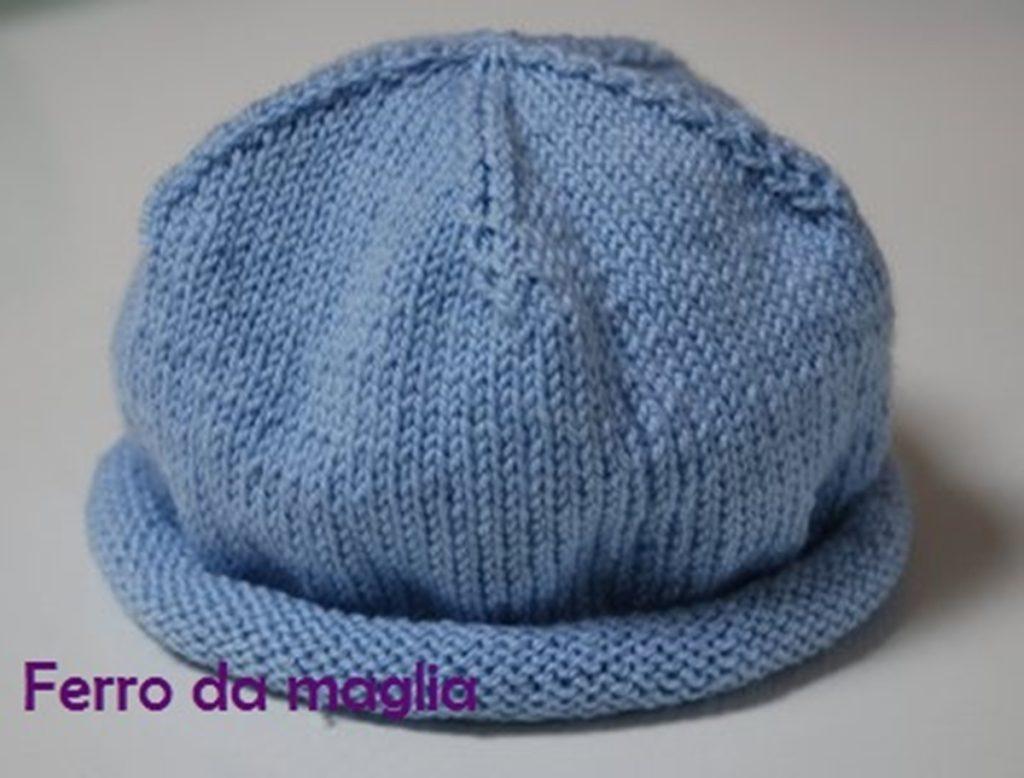 Conosciuto Cappellino per neonato – Ferro da maglia SJ28