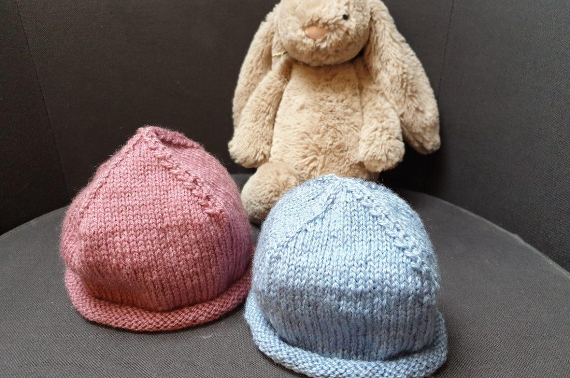 Eccezionale Cappellino per neonato – Ferro da maglia WG17